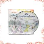 Die Kinderlieder-CD mit 7 bunten Songs passt zur Geschichte des ersten und zweiten Bandes des Kinderbuches Die Dachbodenbande