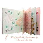 Gutscheinheft für Familien mit 10 lustigen Geschenkideen