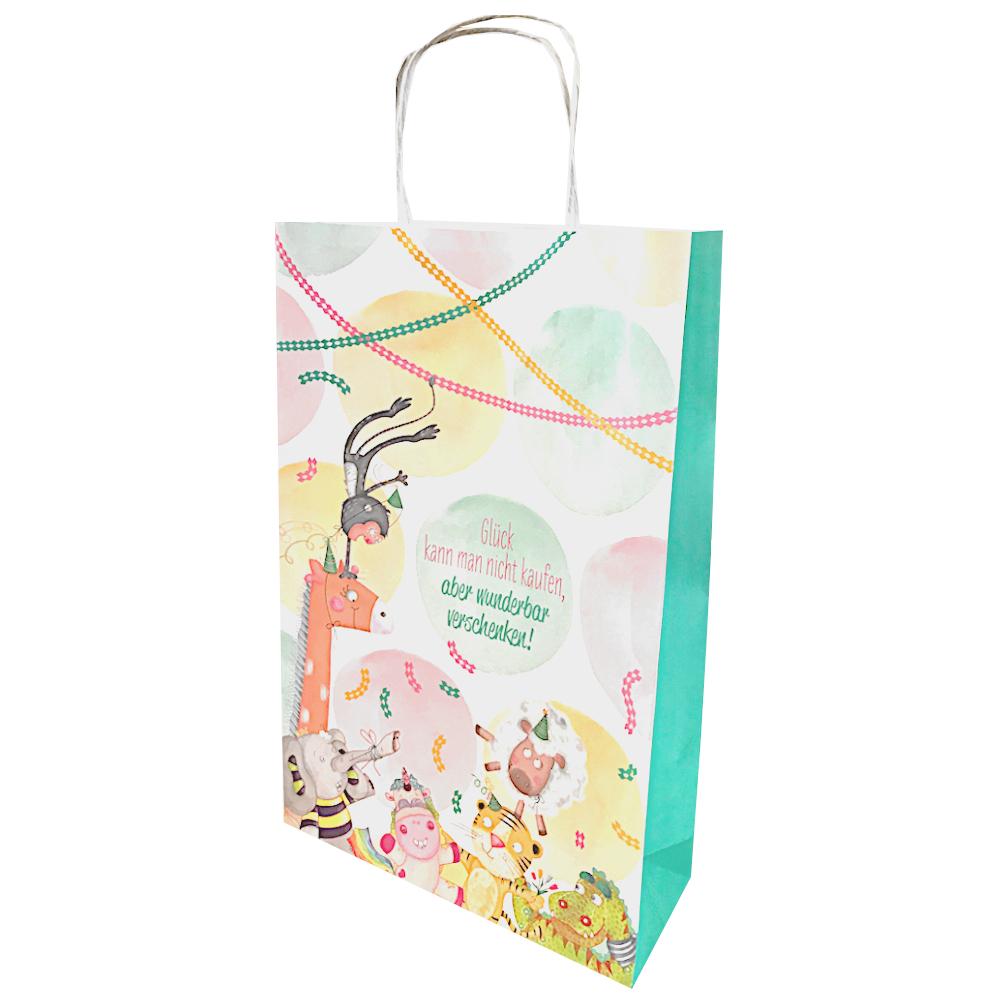 umweltfreundliche Tragetasche aus Papier für Geschenke