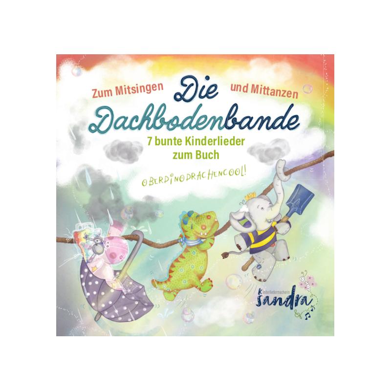 Die Kinderlieder-CD passt ideal zu unseren Kinderbüchern und ist ein lustiges Geschenk für die ganze Familie.