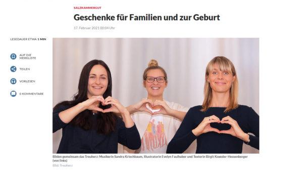 Artikel in den Oberösterreichischen Nachrichten